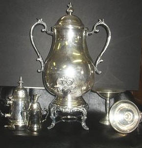 Sheffield Silver Tea Set
