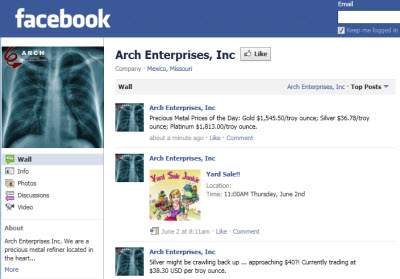 arch enterprises on facebook