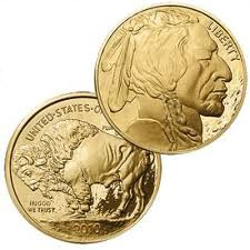 Gold Buffalo Coin